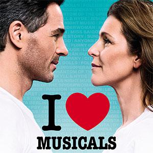 I Love Musicals - Peter Jöback & Helen Sjöholm, Malmö Evenemang