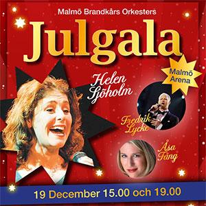 Brandkårens Julgala med Helen Sjöholm, Malmö Evenemang