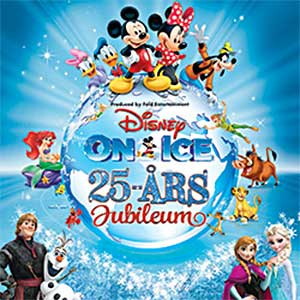 Disney On Ice 25-årsjubileum, Malmö Evenemang