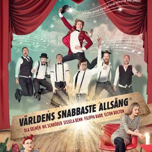 Julshow med Världens Snabbaste Allsång, Malm� Evenemang
