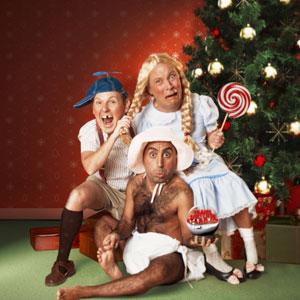 Omogna killar firar jul, Malm� Evenemang
